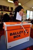 2014 elección general - elecciones Nueva Zelanda Fotografía de archivo libre de regalías