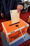 2014 elección general - elecciones Nueva Zelanda Foto de archivo libre de regalías