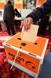 2014 elección general - elecciones Nueva Zelanda Fotos de archivo