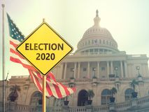 Elecci?n 2020 foto de archivo