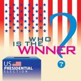 Elección presidencial 03 de los E.E.U.U. Imagenes de archivo