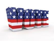 Elección presidencial de los E.E.U.U. Fotos de archivo libres de regalías