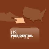 Elección presidencial de los E.E.U.U. Foto de archivo
