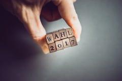 Elecciones 2017 Imágenes de archivo libres de regalías