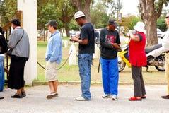 Elecciones generales Suráfrica 2009 imágenes de archivo libres de regalías
