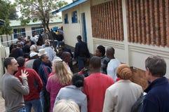 Elecciones generales surafricanas 2009 Fotos de archivo libres de regalías