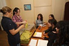Elecciones generales turcas Foto de archivo libre de regalías