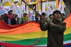 Elecciones locales 2010 de los Peruvian Fotos de archivo libres de regalías
