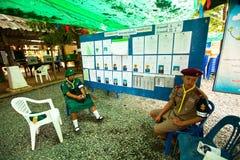Elecciones locales en la isla de Ko Chang imagen de archivo libre de regalías
