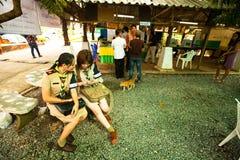 Elecciones locales en la isla de Ko Chang fotos de archivo libres de regalías