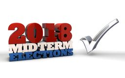 2018 elecciones midterm Fotos de archivo libres de regalías