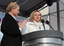 Elecciones parlamentarias en Ucrania Fotografía de archivo libre de regalías
