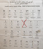 2015 elecciones parlamentarias israelíes Foto de archivo