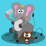 Elecciones presidenciales en los Estados Unidos Ganar al Partido Republicano ilustración del vector