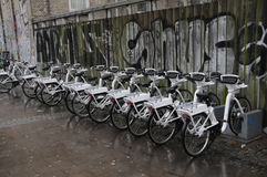 ELECRIC BIKES Royalty Free Stock Images
