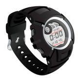 Elecronical zegarek Obraz Stock