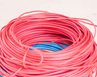 electic wire. Royalty Free Stock Photo
