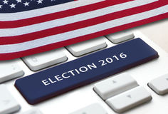 Election 2016 Royalty Free Stock Photo