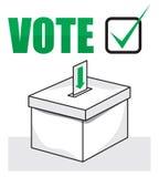 Election box - ballot box Stock Images