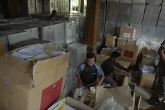 ELECTION BUDGET CORRUPTION Stock Photos