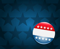 Election campaign button background Royalty Free Stock Photo