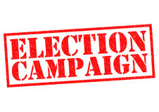 ELECTION CAMPAIGN Royalty Free Stock Photography
