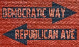 Election choice conceptual Stock Photography