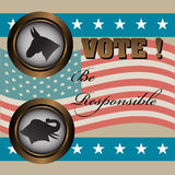 Election concept Stock Photography