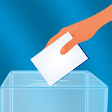 Election container Stock Photography