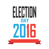 Election Day. 2016 American Presidential Election wallpaper, background. Poster or brochure template. Election banner. Patriotic. Vector illustration Stock Photos