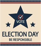 Election day Royalty Free Stock Photography