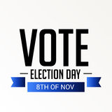 Election Day. Royalty Free Stock Photo