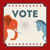 Election Day design Royalty Free Stock Photography