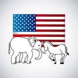 Election Day design Stock Photos