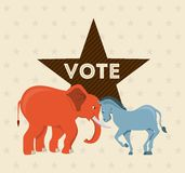 Election Day design Royalty Free Stock Images