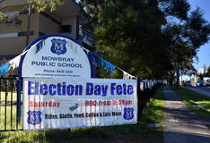 Election Day Fete Stock Images