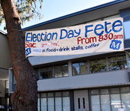 Election Day Fete Royalty Free Stock Images
