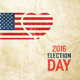 Election day sign. Stock Image