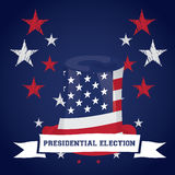 Election day, Vector illustration Stock Images