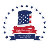 Election day, Vector illustration Royalty Free Stock Photos
