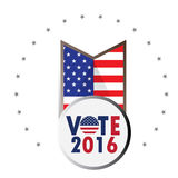 Election day, Vector illustration Royalty Free Stock Image