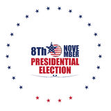 Election day, Vector illustration Royalty Free Stock Photo