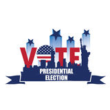 Election day, Vector illustration Stock Image