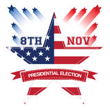 Election day, Vector illustration Royalty Free Stock Photography