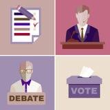 Election Debates Royalty Free Stock Photo