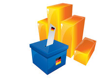 Election documents checklist Royalty Free Stock Image