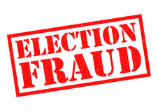ELECTION FRAUD Royalty Free Stock Photography