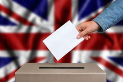 Free Election In Great Britain - Voting At The Ballot Box Stock Photo - 78769380