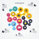 Election Infographic Stock Photos
