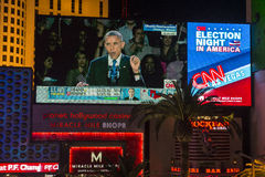 Election night in Las Vegas Royalty Free Stock Photography